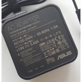 Sạc laptop Asus 19V-3.42A cục vuông đầu kim