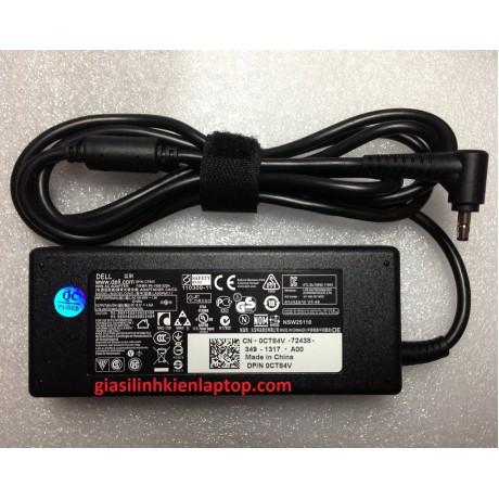 Sạc laptop Dell 19.5V-3.34A 65W chân khấc
