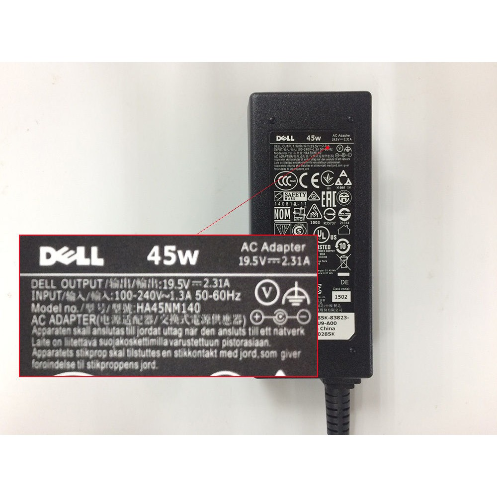 Adapter Sạc laptop Dell inspiron 3465