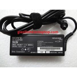 Sạc laptop Sony 19.5V-2A đầu kim   VGP-AC19V58 VGP-AC19V40