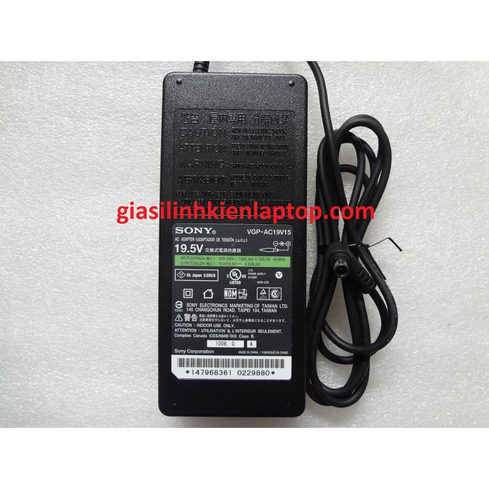 Sạc laptop Sony 19.5V-6.2A