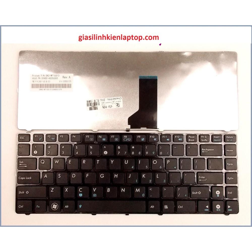 Bàn phím Laptop Asus X84 X84H X84L series