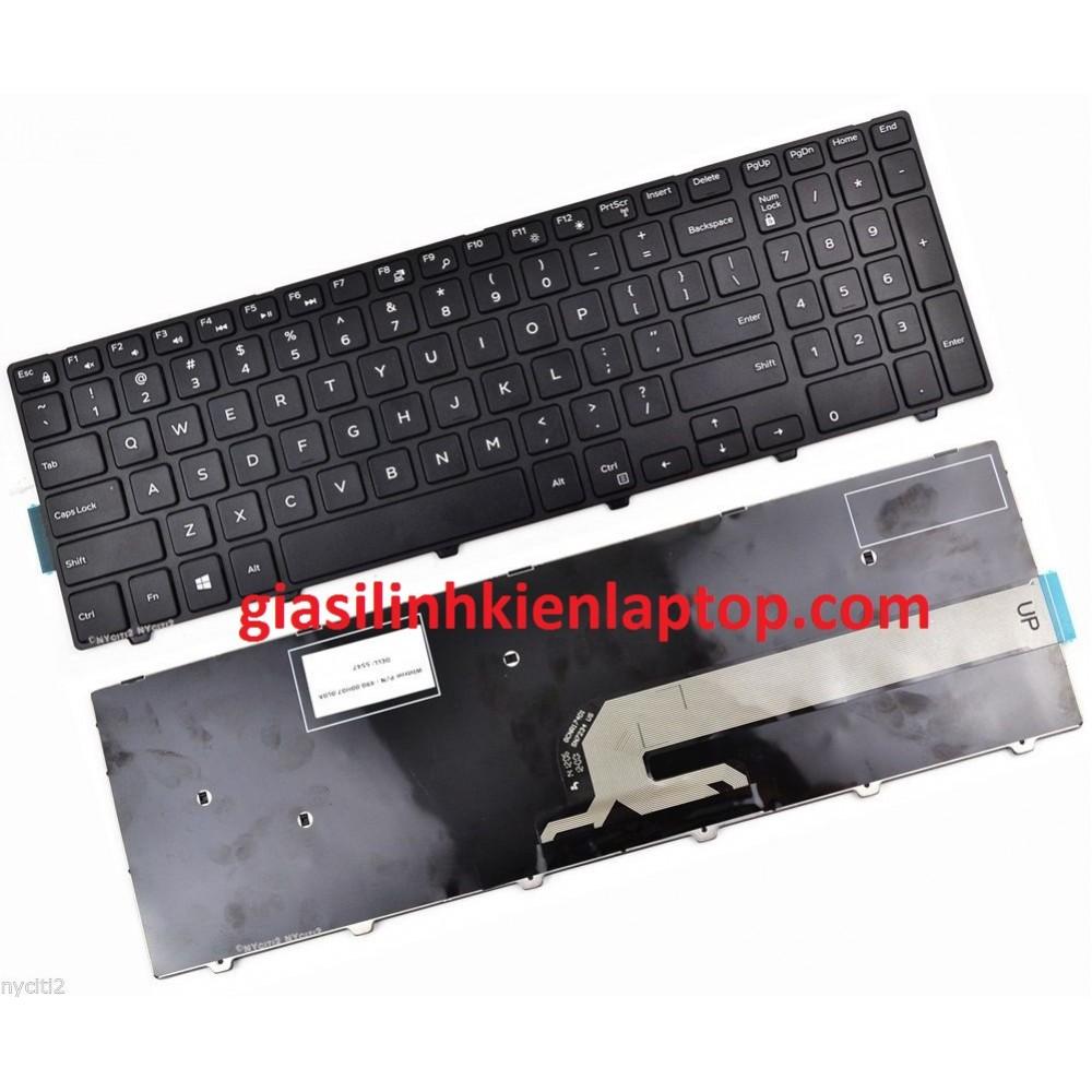 Bàn phím laptop Dell inspiron 5758 17-5758