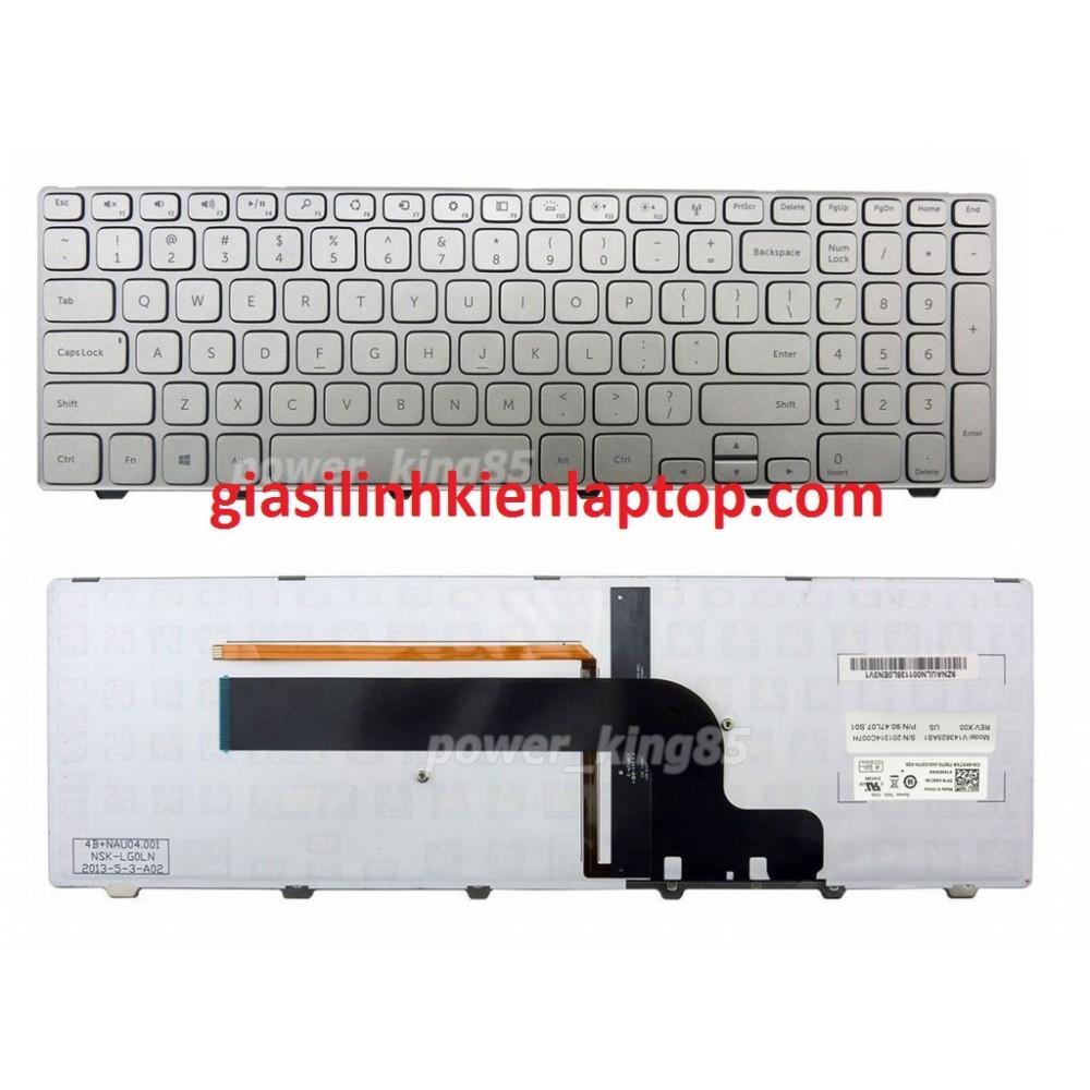 Bàn phím laptop Dell inspiron 7537 15-7537