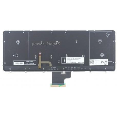 Bàn phím laptop Dell Precision M3800 có đèn