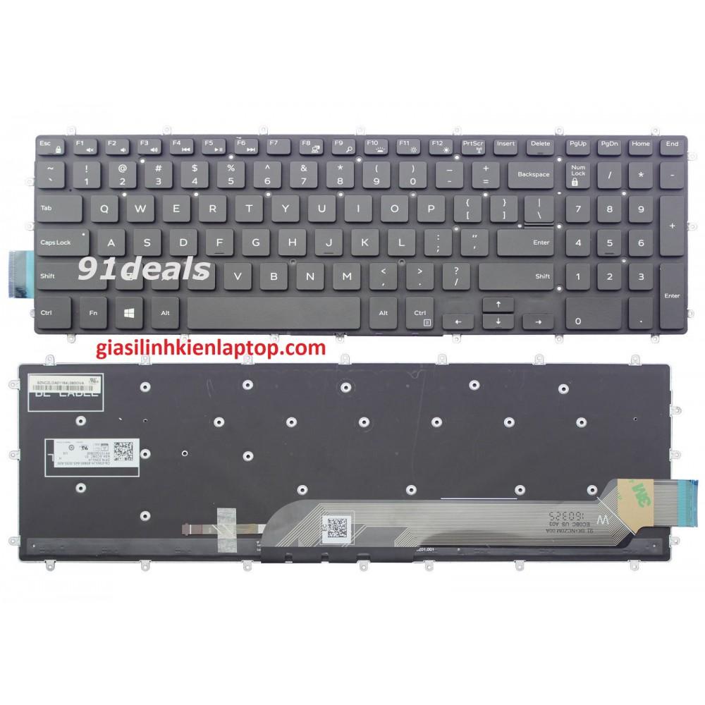 Bàn phím laptop Dell Vostro 15 7580