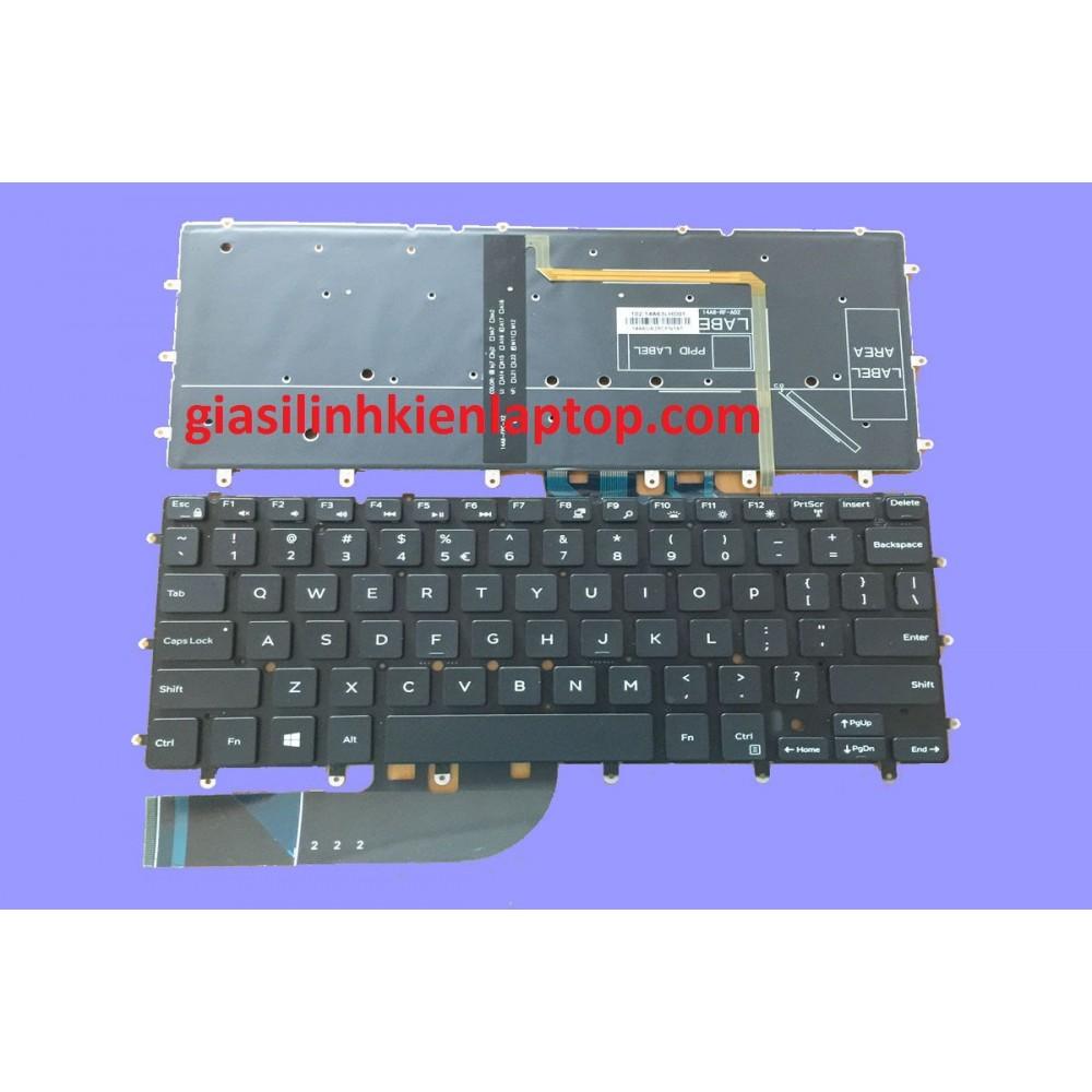Bàn phím laptop Dell XPS 13 9360