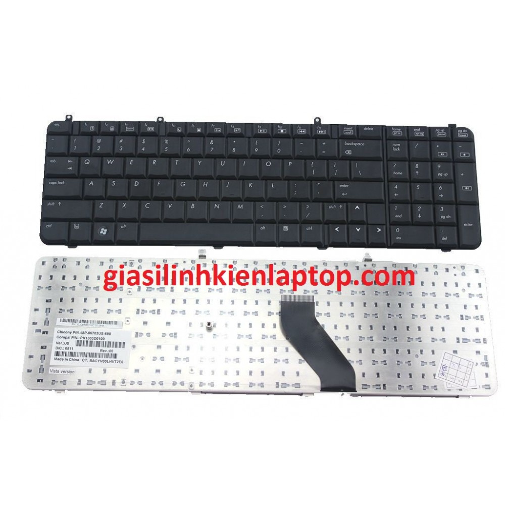 Bàn phím Laptop HP Compaq Presario A900