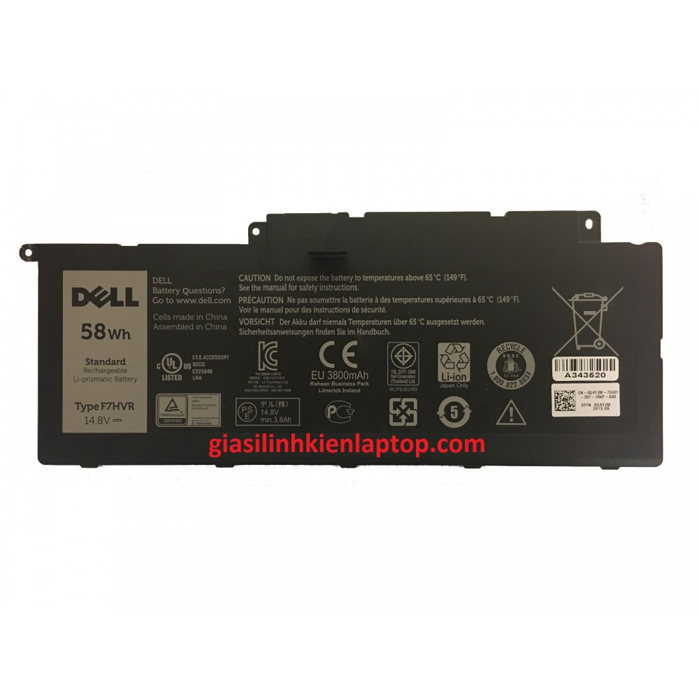 Pin laptop Dell Inspiron 7537 15-7537 ZIN