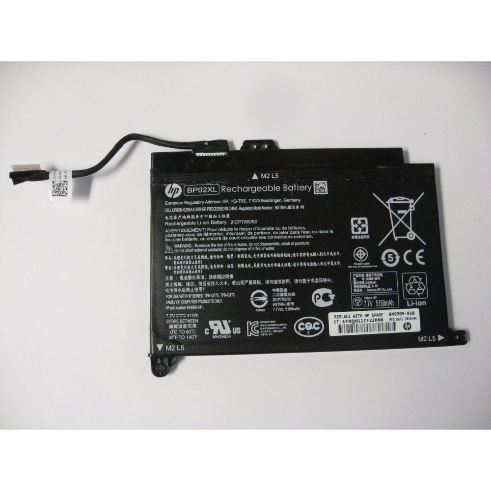 Pin laptop HP Pavilion 15-au024tu 15-au023tu BP02XL