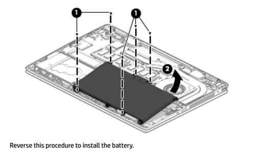 thay pin HP pavilion X360 14-DH0104TU