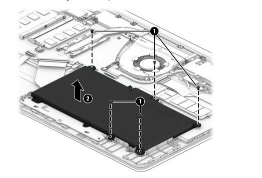 thay pin latpop HP pavilion 15-CS series