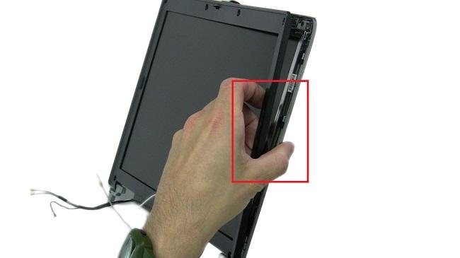 tháo vòng nhựa màn hình dell latitude 3480