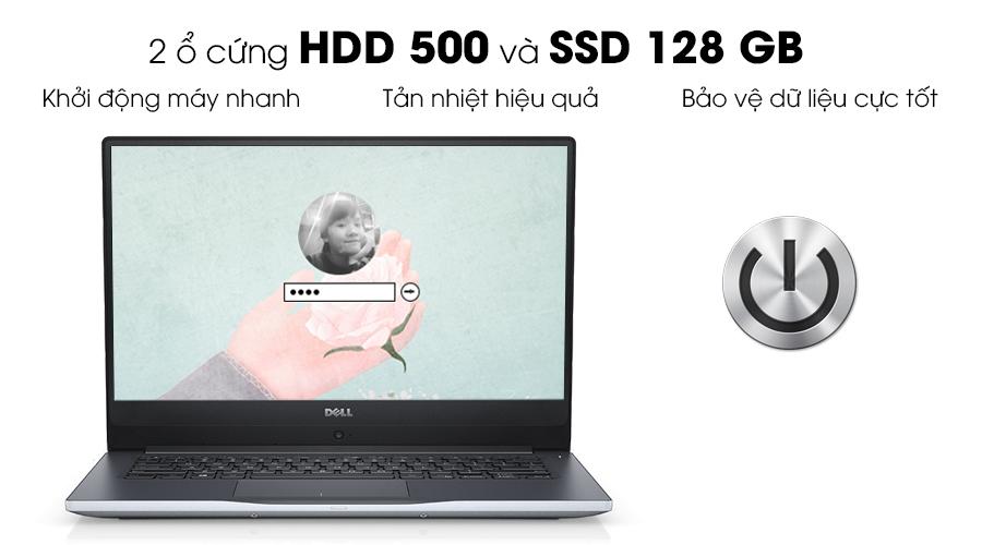 nâng cấp ổ cứng dell 7460