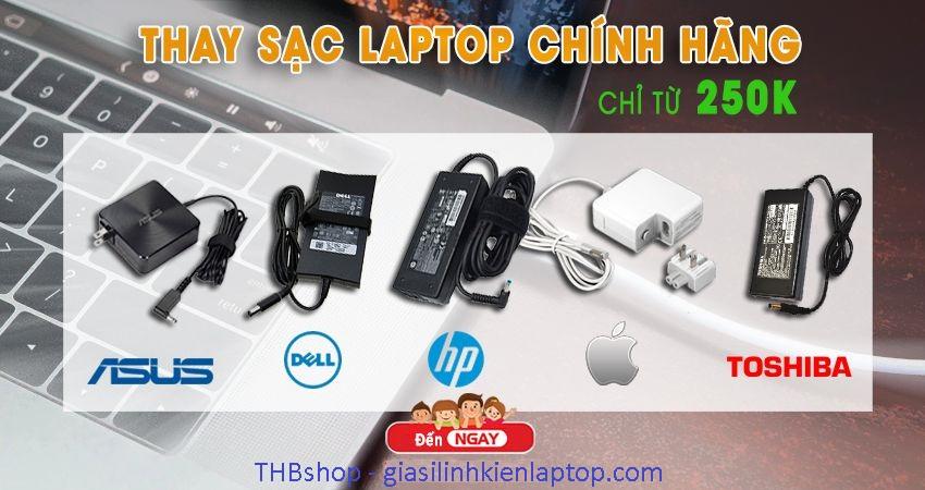 THBshop bán sạc laptop chính hãng