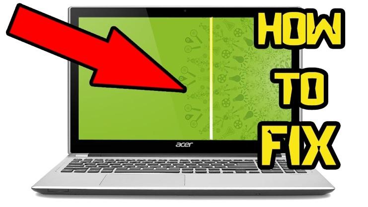 Màn hình laptop bị sọc ngang, sọc dọc có sửa được không?