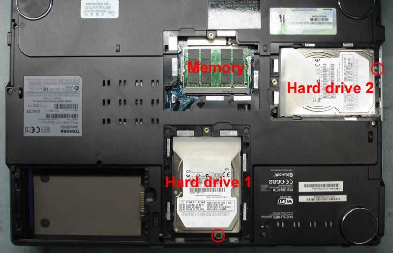lắp 02 ổ cứng cho laptop